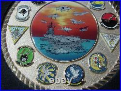 Navy USN Challenge Coin USS John C Stennis (CVN 74)- 2.75