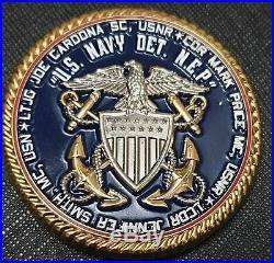 New England Patriots Joe Cardona USN DET NEP Challenge Coin
