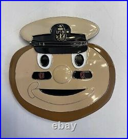 Ohio State Buckeyes Navy Chief CPO Challenge coin