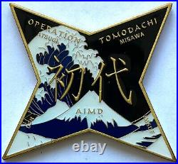 Operation Tomadachi Atsugi Misawa US Navy Japan MSDF Challenge Coin