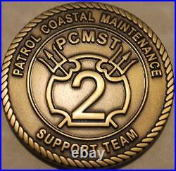 PCMST-2 Patrol Coastal Maintenance Naval Special Warfare Navy Challenge Coin