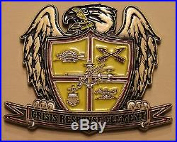 Presidential Special Guard Crisis Response Element SEAL ST1 Navy Challenge Coin