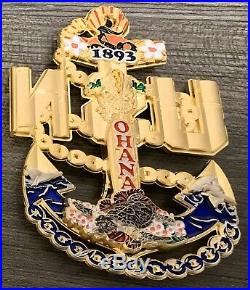RARE OHANA Ver. 3, CPO Challenge coin, Navy Chief