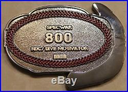 RDC Motivator Ser #38 SEAL SO/ SB / SWCC / EOD / AC / Navy Diver Challenge Coin