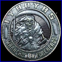 REAPER WARHEADS ON FOREHEADS IYAOYAS COIN PIN UP US NAVY Aviation Ordnanceman