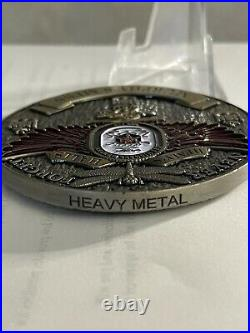 Rare 3 Navy USN Chiefs Mess CPO Challenge Coin USS Michael Murphy (DDG 112)