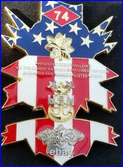 Rare USN NMCB CJSOTF-A US Navy Mobile Construction Battalion 74 Combined Joint S
