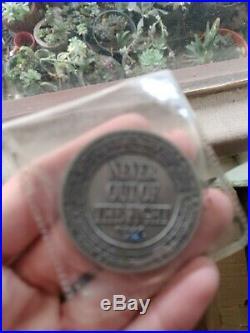 Rare US Navy SEAL Lone Survivor Movie Challenge Coin