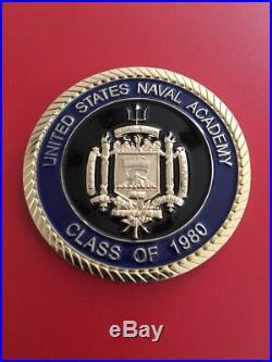 Read Admiral A. B. Cruz III Navy SEAL US Naval Academy Challenge Coin