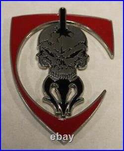 SEAL Delivery Vehicle Team One SDVT-1 TU-1 Charlie Platoon Navy Challenge Coin