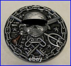 SEAL Team 6 / Six DEVGRU Keeper of the Keys Navy Challenge Coin