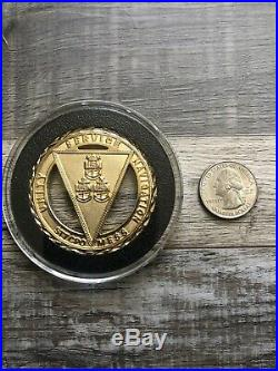 SEAL Team 7 ST7 CPO Chiefs Mess Navy Challenge Coin RARE