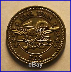 SEAL Team Ten / 10 Combat Service Support DET Two / 2 Navy 2007 Challenge Coin