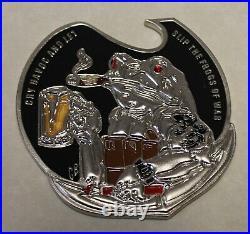 SEAL Team Three / 3 Navy SEAL Sammie and Frogman Freddie Challenge Coin