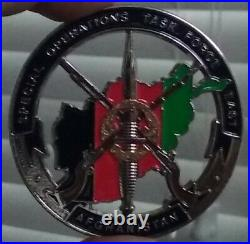SOTF-E Special Operations Task Force East Navy SEAL SOCOM Army US Challenge Coin