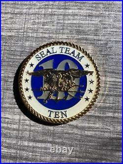 Seal Team 10 Challenge Coin Navy Memorabilia