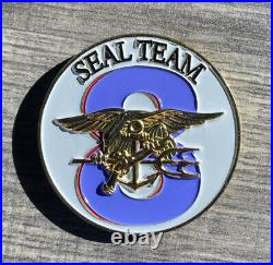 Seal Team 8 challenge coin NAVY Sons of ODIN