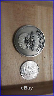 Seal Team Eight Freddie and Sammie Navy silver Challenge Coin 8