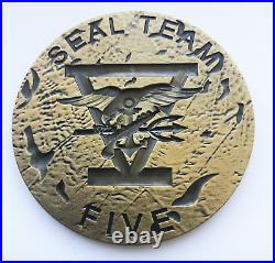 Seal Team Five Joint Responce Force / Usn / No Cpo / Seal Team 5 / Sof / Rare