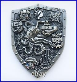 Special Boat Team 12 Navy Seal Usn Cpo Rare Chief Mess