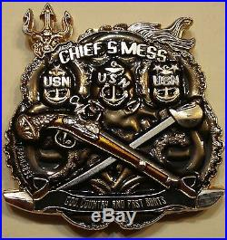 Special Boat Team 12 SBT-12 Warfare Chief's Mess Navy Challenge Coin
