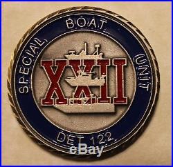 Special Boat Unit SBU-22 DET-122 Mare Island Navy Challenge Coin / SEALs
