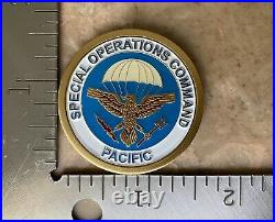 Special Operations Command Pacific, SOCPAC Navy Seal SOG SF USMC Challenge Coin