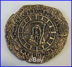 Special Reconnaissance Team One, 1 Troop Serial #'d SEALs Navy Challenge Coin
