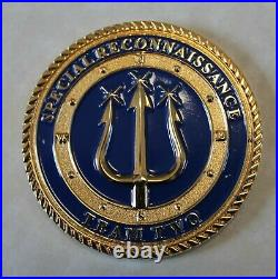 Special Reconnaissance Team Two SRT-2 SEAL Don't Tread on Me Navy Challenge Coin