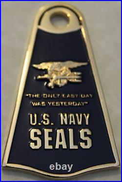 Special Warfare Combatant-Craft Crewmen SWCC SEALs Spec Ops Navy Challenge Coin