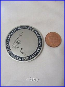 Special Warfare Combatant Craft Mark 1 Navy Ship Survivability Challenge Coin