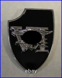 Special Warfare DEVGRU SEAL Team 6 Silver Squadron Tier-1 Navy Challenge Coin