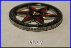 Special Warfare Group 10 Mission Support Center Navy SEAL Chief Challenge Coin