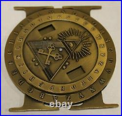 Special Warfare SEAL Tactical Information Operations Ser# Navy CT Challenge Coin