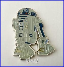 Star Wars R2D2 Robot Droid Jedi USN Mess CPO Challenge Coin No NYPD CIA Police