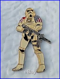 Star Wars The Last Jedi Stormtrooper Atsugi Usn Cpo Mess Challenge Coin Non Nypd
