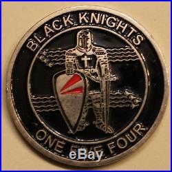 Strike Fighter Sq 154 VFA-154 Black Knights Navy Challenge Coin