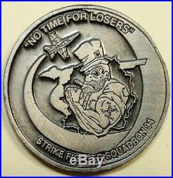 Strike Fighter Sq 94 VFA-94 Mighty Shrikes F-18 Hornet Navy Challenge Coin