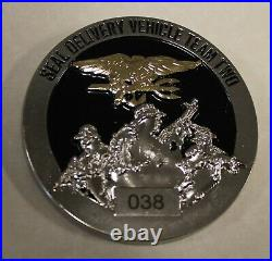 Sub SEAL Delivery Vehicle Team One SDVT-2 Little Creek Navy Ser# Challenge Coin