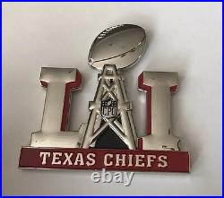 Super Bowl 51 LI Houston Texas Chief Cpo Navy Challenge Coin Patriots Tom Brady