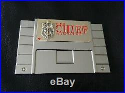 Super Nintendo Navy Cpo Chief Video Game Challenge Coin Zelda Snes Nes Non Mario