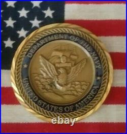 Thomas Hudner Captain Navy Korea Medal Of Honor Challenge Coin #6406