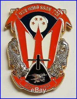 USMC US Navy Chief CPO CPOA USS Ohio SSGN 726 Always First