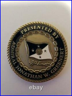 USN Chief of Naval Operations Admiral Jonathan Greenert Challenge Coin