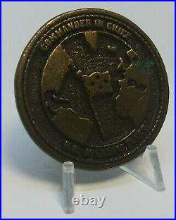 USN Director Naval Security Group Atlantic Challenge Coin