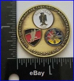 USN NAVY SEAL Team One Poland GROM USMC MARSOC OIF 2004 NSWTG Arabian Peninsula
