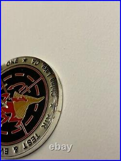 USN Navy Air Test & Evaluation Sq 31 DUST DEVILS China Lake CA X Challenge Coin