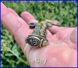 USN Navy Lemoore Mess Blunderbuss Gun Pistol Challenge Coin CPO Chief Non NYPD