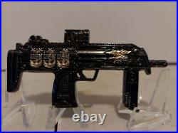 USN Navy Seals H&K MP7 Rifle CPO Navy Chief Challenge Coin