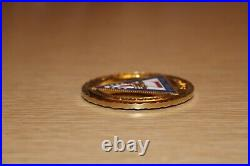 USN Navy Seals SEAL TEAM 7 ST7 STRENGTH HONOR COURAGE Cutout Challenge Coin